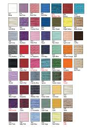 Covers Colour Chart