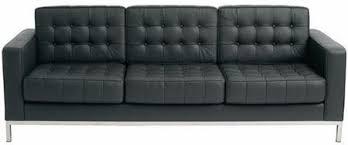 black leather tufted sofa. Simple Sofa Throughout Black Leather Tufted Sofa O