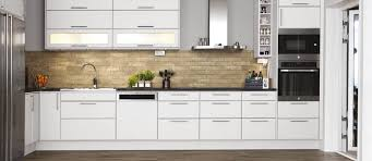 fornace brick tiles beige on kitchen splashback wall