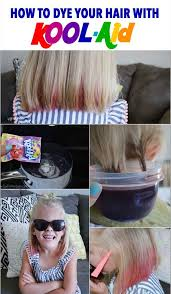 How to dye your hair with Kool Aid learn all the tips!