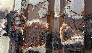 severe corrosion steel roof sheet