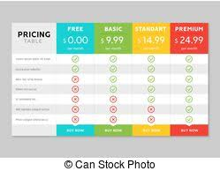 Comparison Chart Infographic Box Chart Comparison Vector Isometric Illustration Of Box