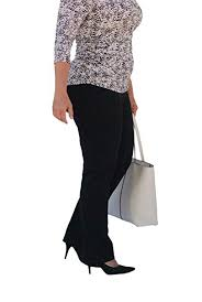 Women's Soft Pull-on Waist <b>2-in-1</b> Slimming Fitted <b>Casual</b>-<b>Athletic</b> ...