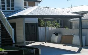hip roof carport diy kits for genuine colorbond