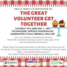 Team Get Together Invitation Last Chance Nominate Your Volunteers For The Great