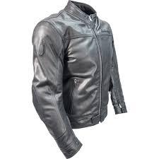 sentinel richa cafe leather motorcycle jacket