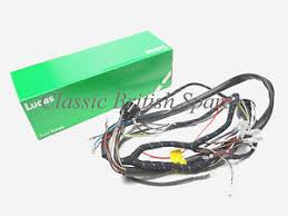 bsa early distributor c15 b40 lucas cloth bound wiring harness image is loading bsa early distributor c15 b40 lucas cloth bound