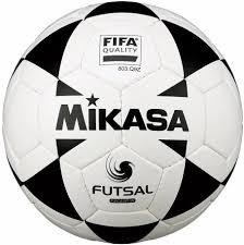 <b>Мяч футбольный Mikasa</b> FSC62P-W, белый, черный, размер 4