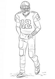 Small Picture American football player coloring pages printable ColoringStar