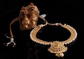estonish gold plated temple jewellery