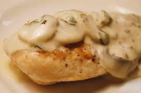 Картинки по запросу Рецепт приготовления курицы с грибами в сливочном соусе