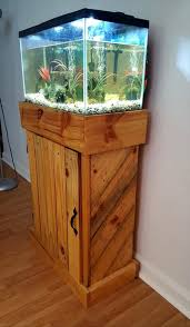 furniture fish tanks. Sturdy Pallet Made Fish Tank Stand Furniture Tanks