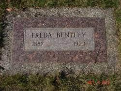 """Freda Rose """"Fraderica"""" Eckhoff Bentley (1887-1922) - Find A Grave Memorial"""