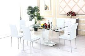 glass table and chair sets small glass table and chairs surprising awesome dining room tables glass