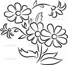 Coloring Pages : Flower Drawing Clipart Lotus Drawings Of Flowers ...
