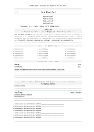 resume format in wordpad cipanewsletter professional cv most professional resume format most professional