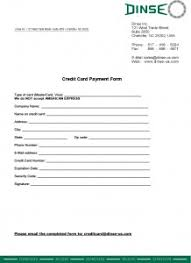 Credit Card Payment Form - Dinse-Us.com