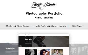 Photo Studio Photo Portfolio Creative Website Template
