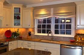 elegant curtains for kitchen windows and outstanding window treatment ideas for kitchen cagedesigngroup