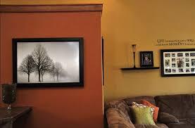 Burnt Orange And Brown Living Room Concept New Inspiration Design