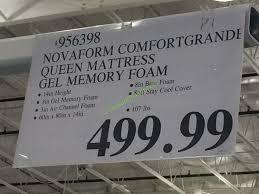 novaform comfort grande queen. costco-956398-novaform-comfort-grande-queen-mattressgel-memory-foam-tag novaform comfort grande queen o