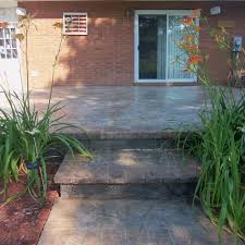 designing a stamped concrete patio requires little more than your imagination however as custom designs get a bit expensive many contractors have