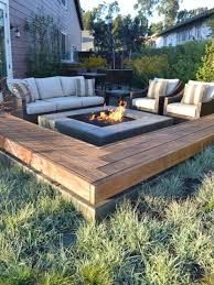 the final outdoor seating area necessity an open fire pit which to gather around and