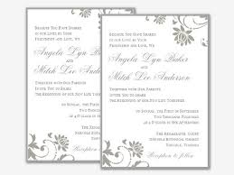 Free Wedding Invitation Templates For Word Bravebtr Extraordinary Invitation Template Word
