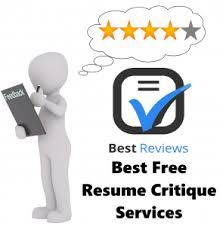 Best Free Resume Critique Services