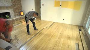 How to install bamboo flooring Glue Youtube Prefinished Bamboo Floor Installation Youtube
