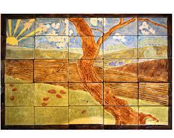 Decorative Tiles To Hang Wall art tile mural decorative tiles Ready to Hang The 83