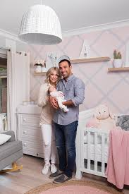 House Rules winners Adam and Lisa share a glimpse at their baby girl  Arabella's nursery   Daily Mail Online