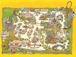 Knott's Berry Farm Park Map