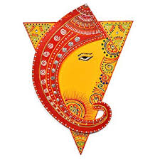 Small Picture Amazoncom Indian Decor Wall Hanging of Ganesh with Shakti