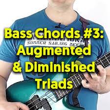 Music Theory For Bass Guitar Triads Talkingbass