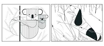 Coloring Pages Ideas Or Book And Colouring Charley Harper 50