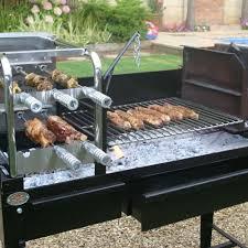 Braai De Echte Zuid Afrikaanse Barbecue Op Hout