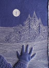 110 best Free Motion Quilting - Patterns and Tutorials images on ... & Free motion moon and sky by Lizzie Lenard (UK) Adamdwight.com