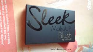sleek as a brand needs no introduction and our ging world is full of their reviews i saw sleek blush for the first time when i met a friend in