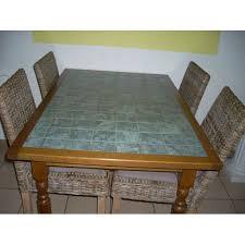 Table Carrelée De Cuisine Achat Vente De Mobilier Rakuten