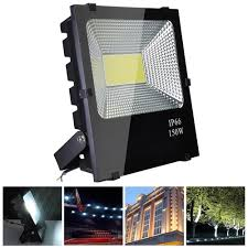 Bowfishing Flood Lights 50w 100w 150w Led Flood Light Cool White Outdoor Security