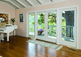 replace sliding glass door with french cost elegant