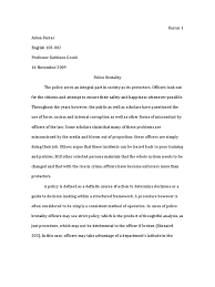 policing essay community policing essay