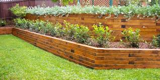 even though wooden retaining walls have fallen out of fashion in recent years they remain very popular in our area because of the overall cost of