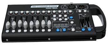 E-Lektron C-192A DMX Controller 192-Kanal Lichteffekt Steuerpult  Lichtsteuerung