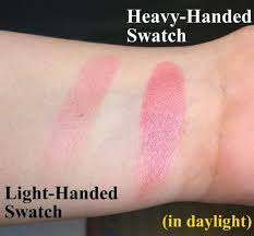 makeup revolution london baked blush in loved me the best swatch