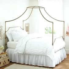 White Wood Canopy Bed Canopy Bed Full Full Size White Wood Canopy ...