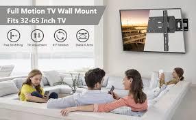 full motion tv wall mount bracket