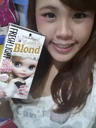 Schwarzkopf Fresh Light Foam Color Lemon Blond Anggie Lian