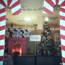 christmas decorating themes office. Fancy Office Christmas Decoration Cube Decorating Ideas House Projects From Around Decorations . Themes L